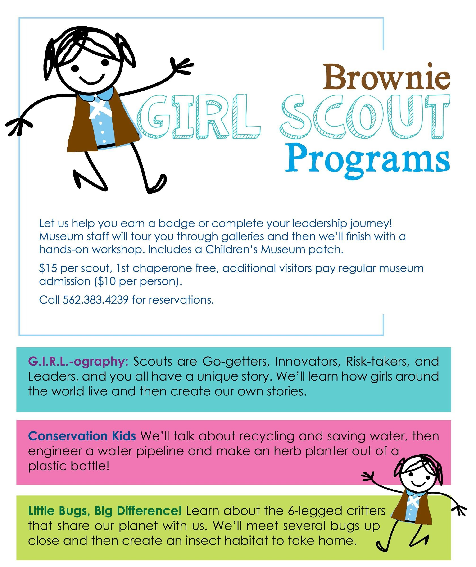 brownie workshops