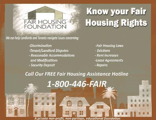 Fair Housing   La Habra, CA - Official Website