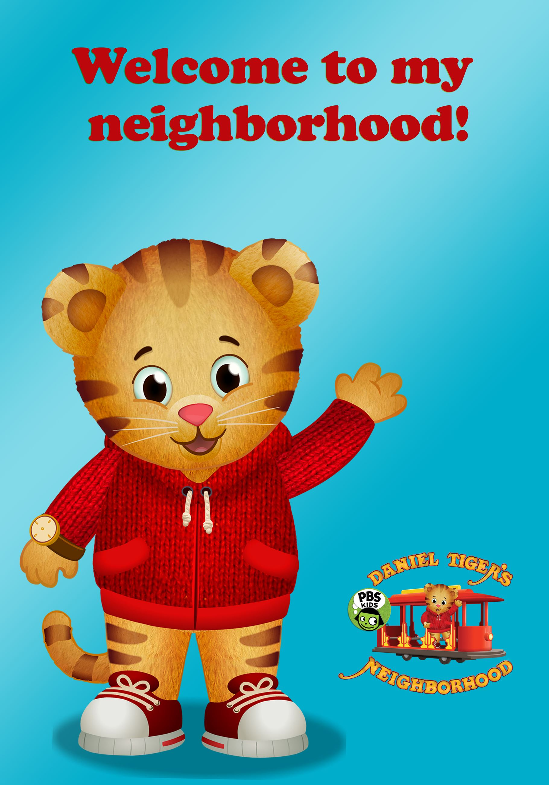 Daniel Tiger_Welcome Sign