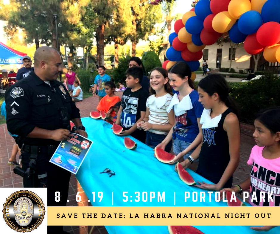 2019 Natl Night Out Save the Date