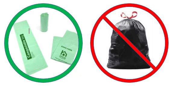 Compostable and Trash Bags