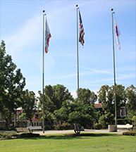 constitution park flags